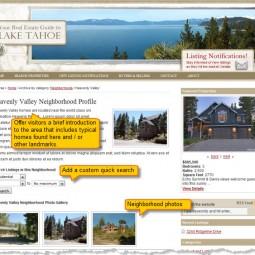 Writing a Neighborhood Profile