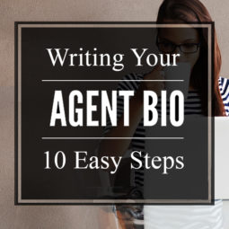 how to write an agent biography