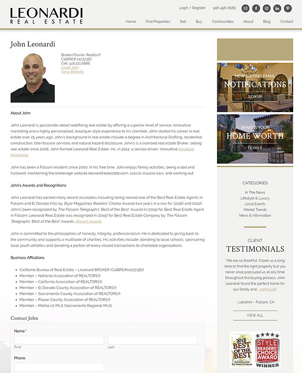 real estate agent biography writing a real estate agent bio real