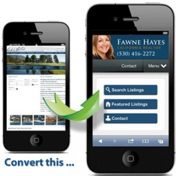 Mobile Real Estate Websites