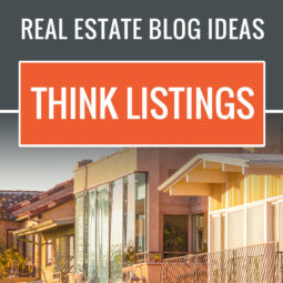 real estate blog ideas for property listings