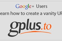 How to make a Vanity URL for Google+