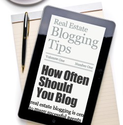 Real Estate Blog Tips – How Often Should You Blog?