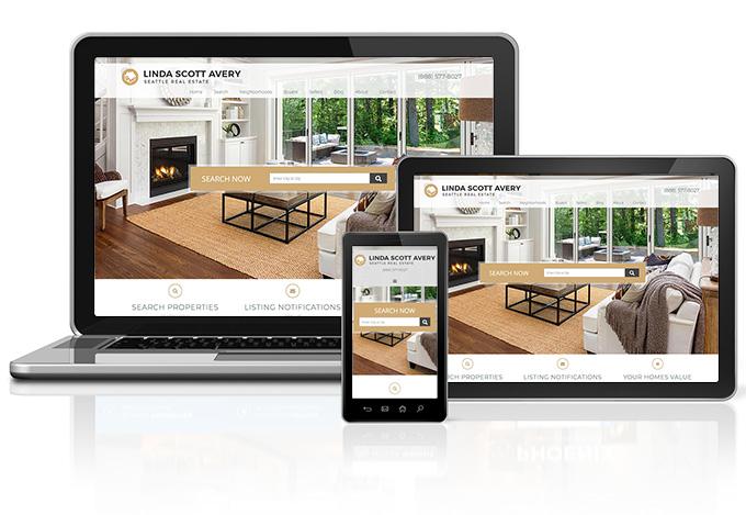 Real Estate Website Design Example