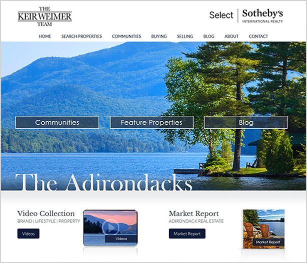 Keir Weimer Custom Real Estate Website