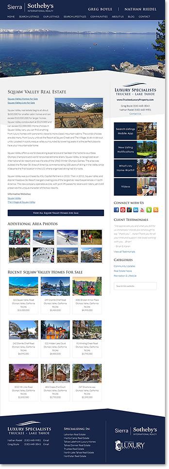 Real Estate Neighborhood Profile Example