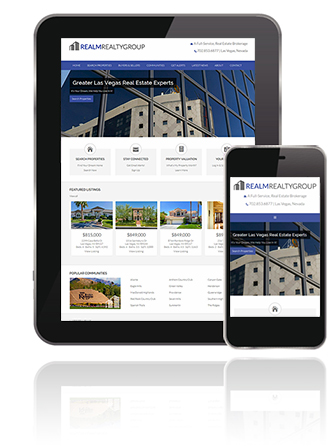 Responsive Website Design for real estate