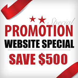 Big Year End Promo! Save $500 on a Responsive Website