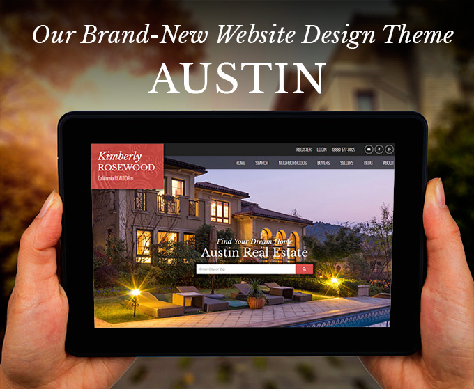 Real Estate Website Design Theme Austin