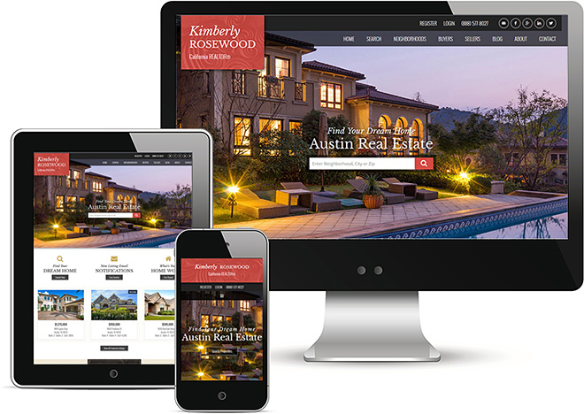 Responsive Real Estate Website Theme Austin