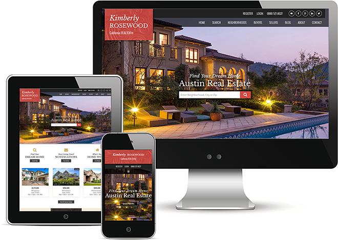 Responsive Real Estate Website Design Austin Theme