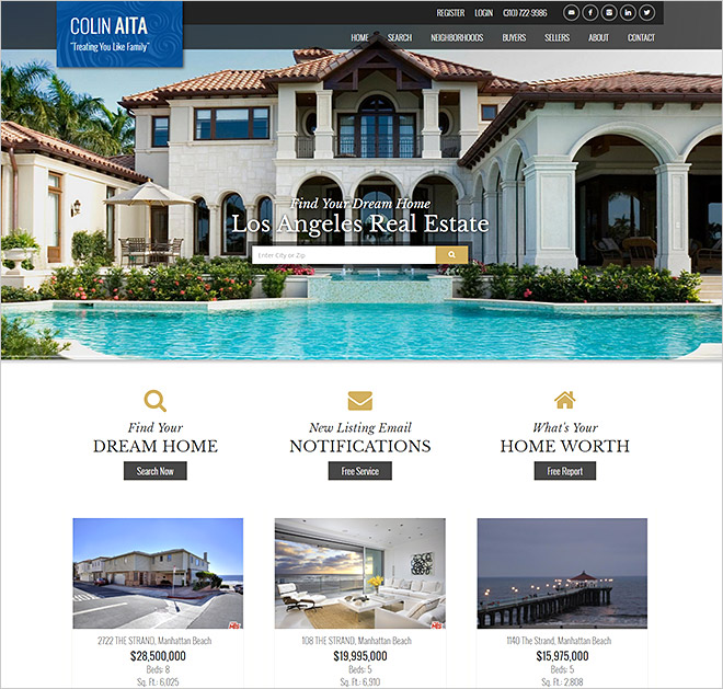 Real Estate Website Colin Aita