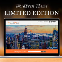 New Limited Edition WordPress Real Estate Theme