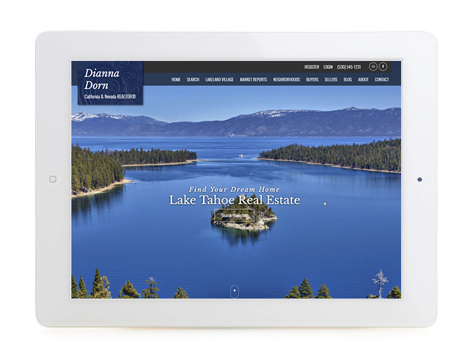 Best California Real Estate Website Design Dianna Dorn