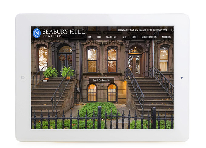 Best Connecticut Real Estate Website Design Seabury Hill