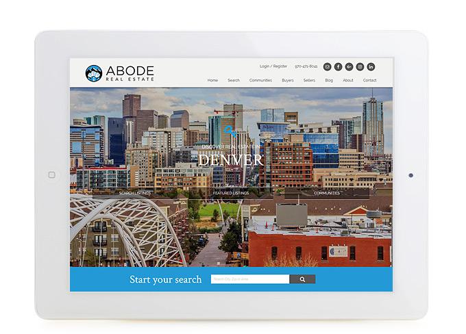 Best Denver Real Estate Website Design Abode
