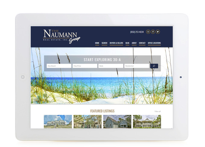 Best Florida Real Estate Website-Design The Naumann Group