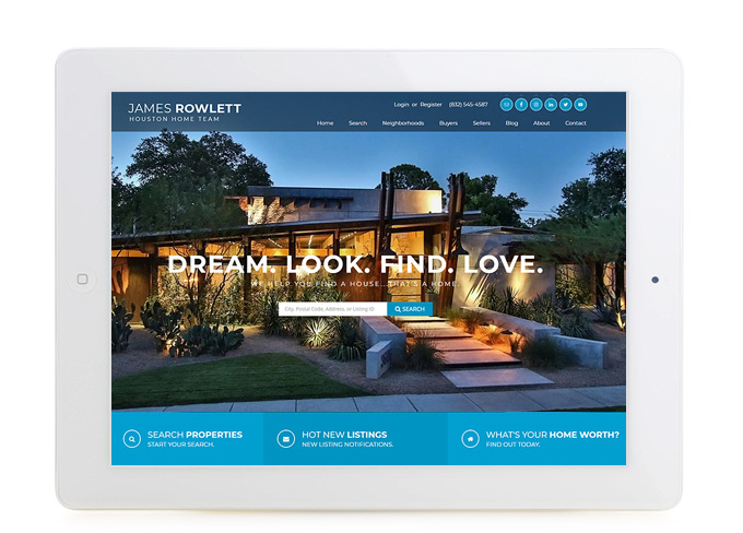 Best Huston Real Estate Website Design James Rowlett