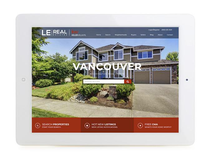 Best Vancouver Real Estate Website Design Denny Le