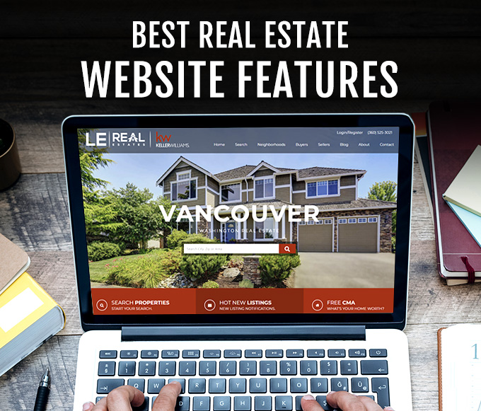 Best Real Estate Website Features   Real Estate Web Site Design by