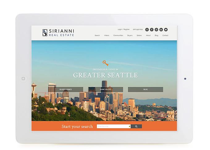 Best Real Estate Website Design Sirianni