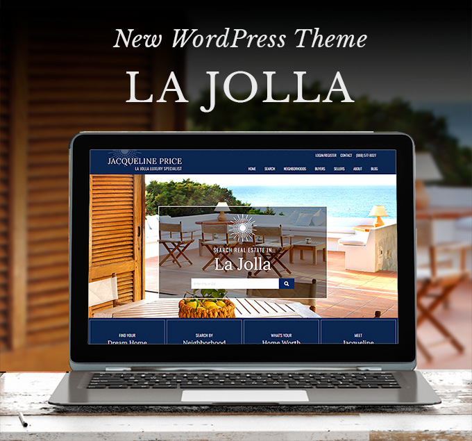 La Jolla WordPress Real Estate Website Design