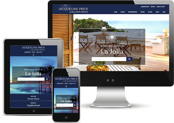WordPress Real Estate Website La Jolla