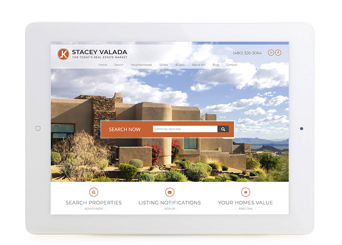 Best Arizona Real Estate Website Stacey Valada