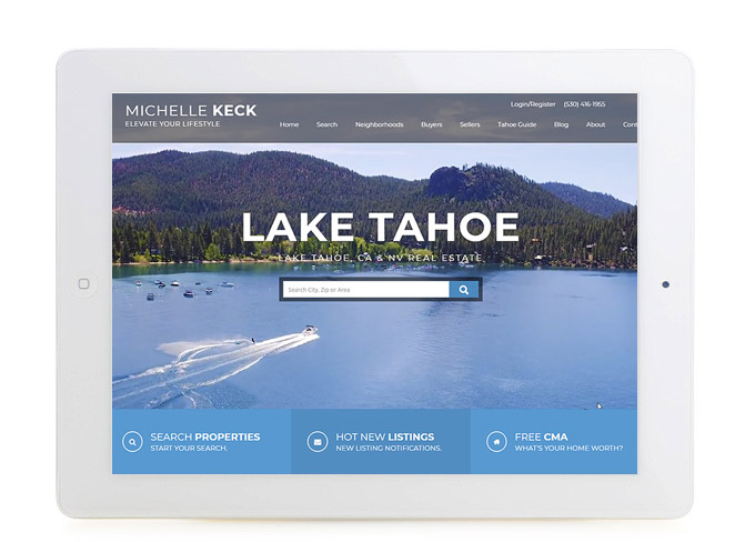 Best California Real Estate Website Michelle Keck