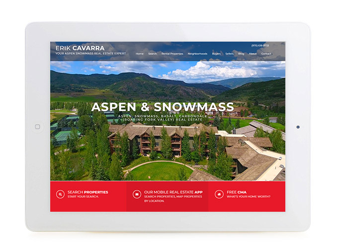 Best Colorado Real Estate Website Design