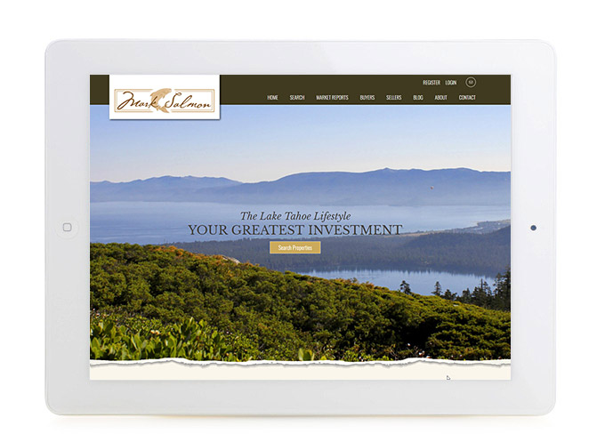 Best California Real Estate Website Design Mark Salmon