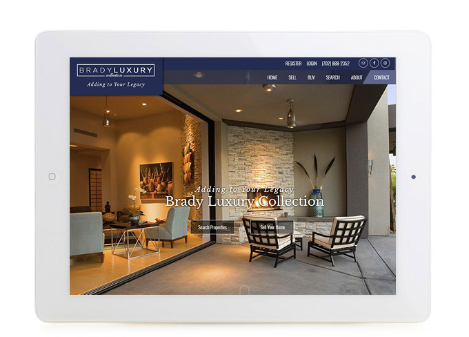 Best Nevada Real Estate Website Brady Luxury