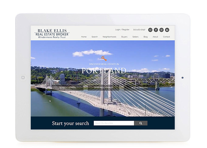 Best Portland Real Estate Website Design