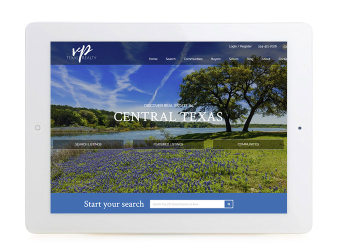 Best Texas Real Estate Website VP Texas Realty, LLC