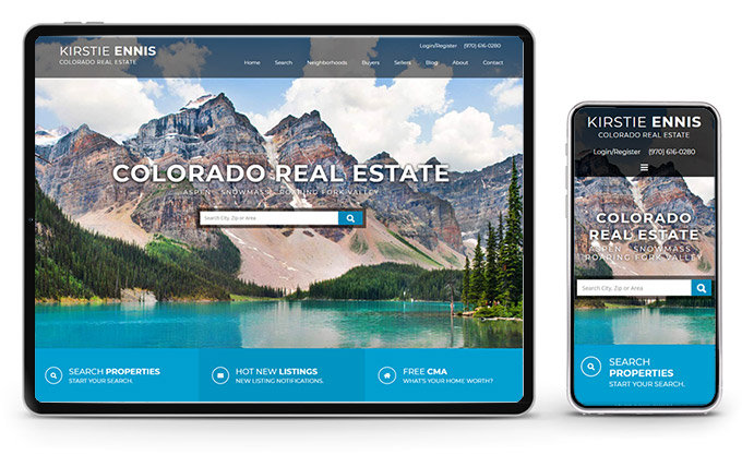 Best Colorado Real Estate Website Kirstie Ennis Realtor