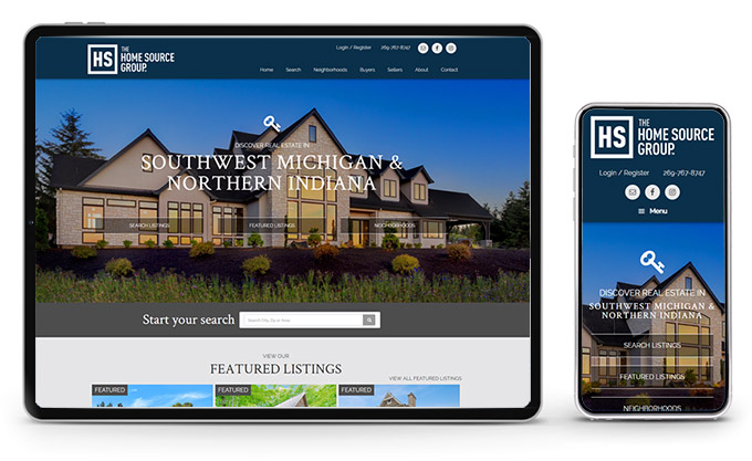Best Michigan Real Estate Website Home Source Group